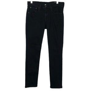 Rag & Bone 'The Skinny' Stretch Jeans in Coal